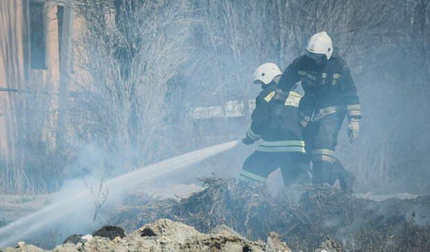 Названы самые пожароопасные районы Омской области