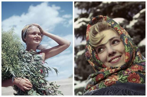 Юные и прекрасные девушки изСССР