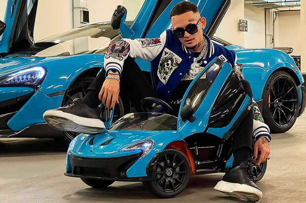 Моргенштерн похвастался новым автомобилем за 15 млн рублей