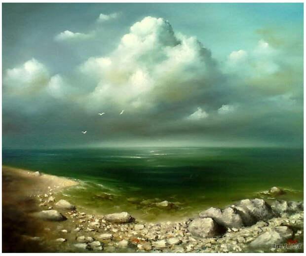 Морские пейзажи от Сергея Лима.