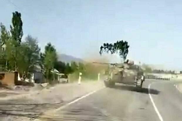 В Киргизии из зоны конфликта с Таджикистаном эвакуировано 2,7 тыс. человек