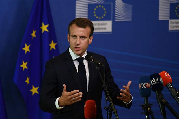 Президент Франции Макрон предложил сократить Шенгенскую зону