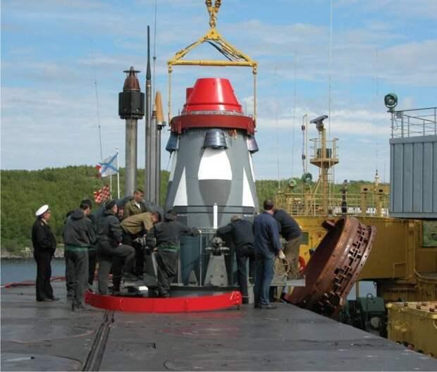 Старт из-под воды. Новый концепт подводной пусковой установки для баллистических ракет