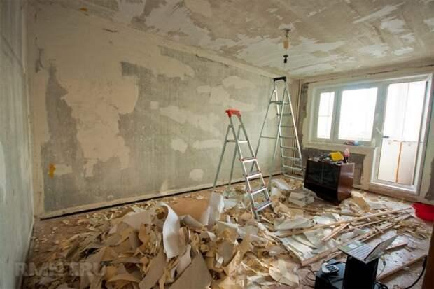Капитальный ремонт в квартире, с чего начать?