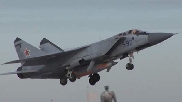 National Interest назвал преимущества российских истребителей МиГ-31
