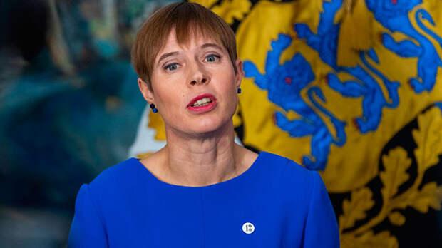 Президент Эстонии назвала русский язык угрозой для страны