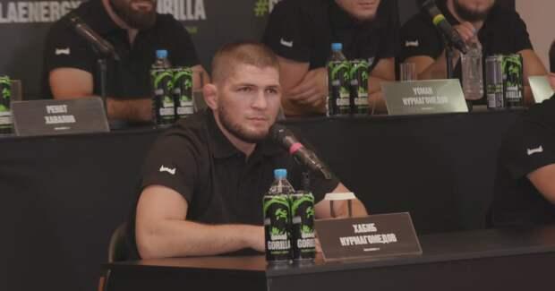 Хабиб Нурмагомедов стал акционером UFC и продлил рекламный контракт с Gorilla