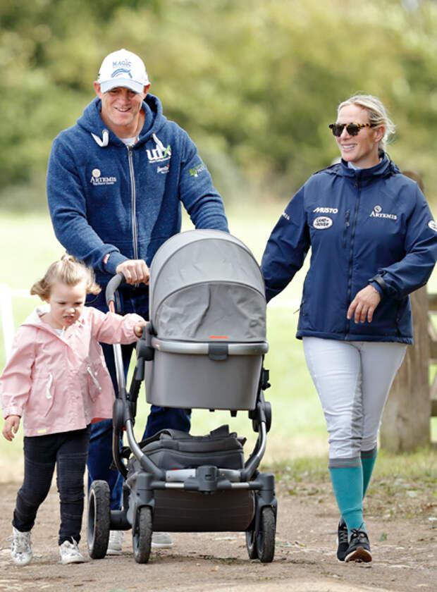 Внучка королевы Елизаветы II Зара Филлипс станет мамой в третий раз