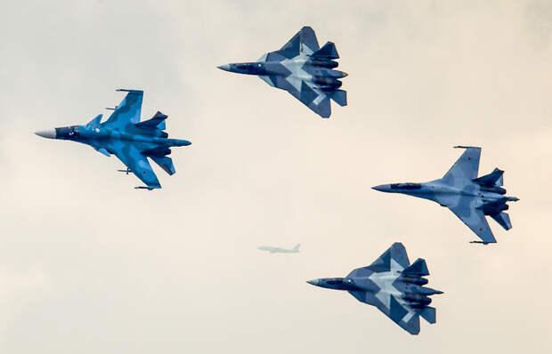 Ударная сила: Су-57 и другие новейшие машины боевой авиации России