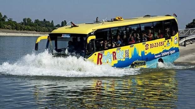 3. Автобусы-амфибии сам не знал, спец авто, уникальное авто