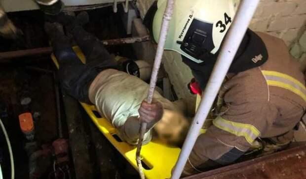 ВЗеленодольске МЧС спасло мужчину, провалившегося вподвал