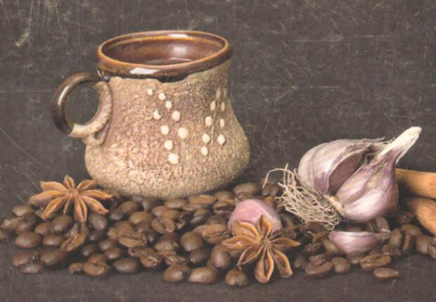 Варим кофе с чесноком и медом: бодрит лучше обычного