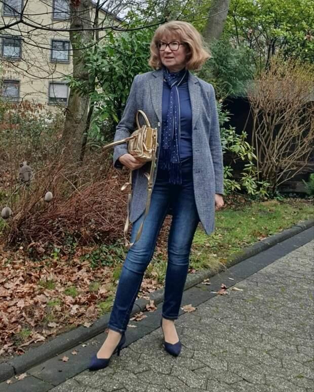 Идеальные вещи для женщины 55+, которые не захочется снимать всю весну