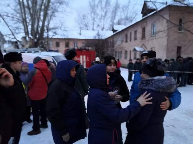 Двухэтажный дом частично разрушен взрывом газе в Уфе, пострадал ребенок и двое взрослых
