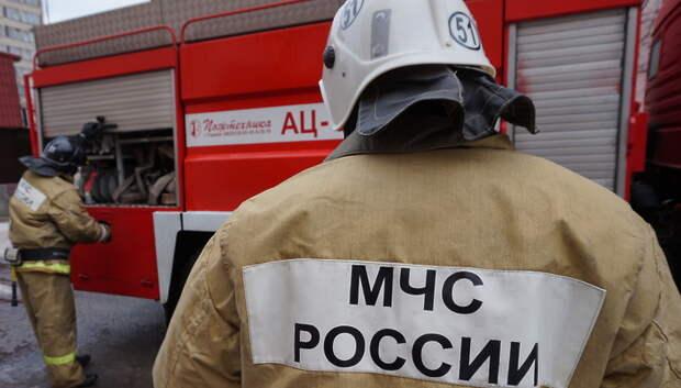 В Подольске потушили возгорание в доме до прибытия пожарных
