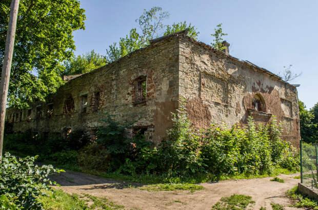Остатки хозяйственного строения