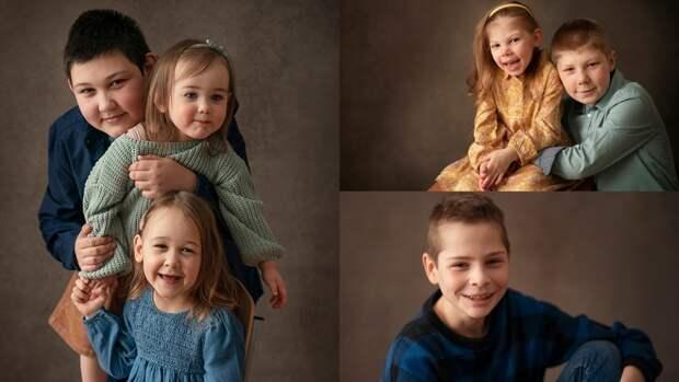 Фото к маме: профессиональный фотограф помогает сиротам найти семью