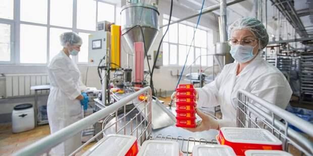 Собянин присвоил статус промкомплекса заводу плавленых сыров «Карат» / Фото: Е.Самарин, mos.ru