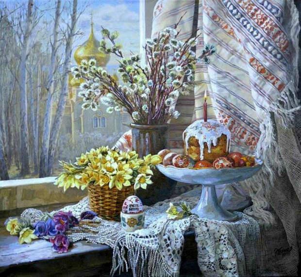 Источник: art.mirtesen.ru. Эдуард Панов «Светлая Пасха» (ХХ век)