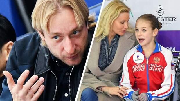 Плющенко: «Говорят, япереманил Трусову финансово. Ноеепапа сам позвонил мне еще два года назад»