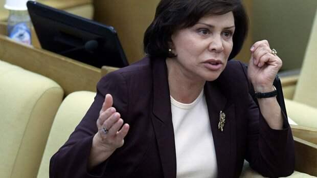Роднина ответила Ласицкене, напомнившей о 5-летии отстранения российских легкоатлетов