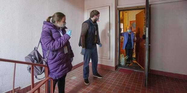 Соцработников в Ховрине приняли за мошенников