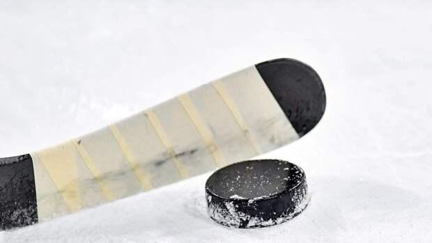 Сын Лукашенко ударил соперника клюшкой в любительском хоккейном матче