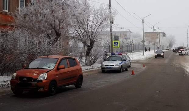 В Орске завели уголовное дело на 79-летнего водителя KIA, сбившего женщину