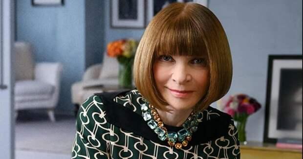 Легендарный главред Vogue Анна Винтур назначена контент-директором Condé Nast