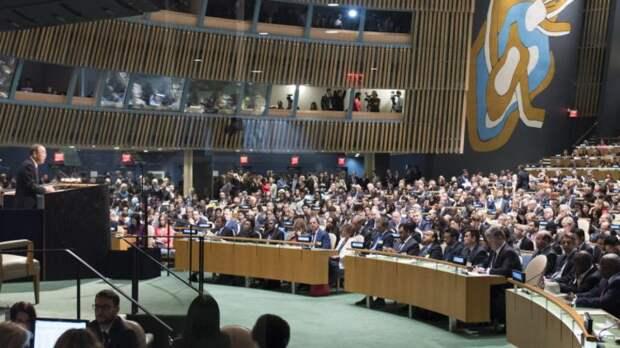 «Вредоносная украинская затея»: в России прокомментировали решение ГА ООН по резолюции о милитаризации Крыма