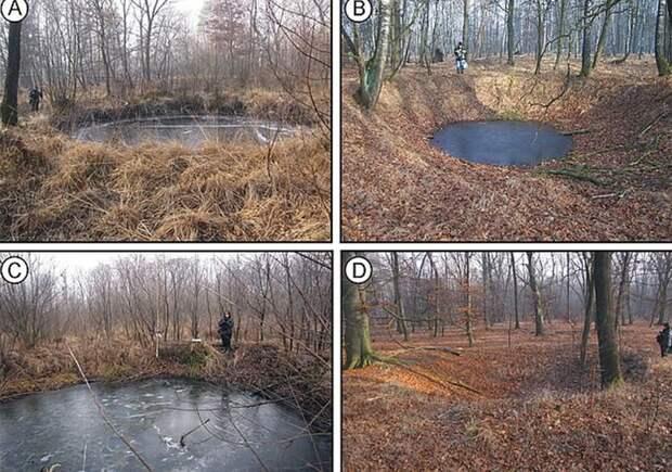 Ученые нашли в Польше около 6000 воронок от бомб