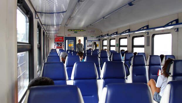 Количество пригородных поездов из Москвы в Подмосковье увеличится в марте