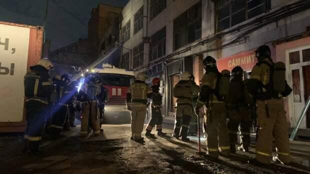 Крупный пожар на складе ликвидировали новосибирские спасатели