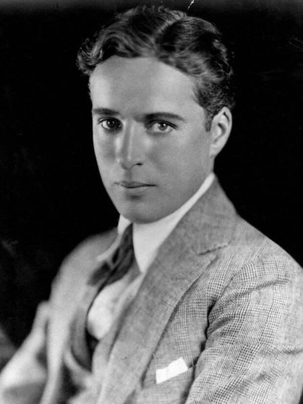 Молодой Чаплин, 1921 год  (Wikimedia / National Portrait Gallery)