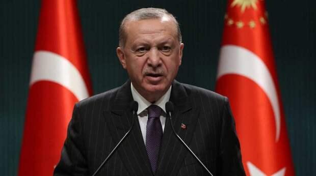 На руках Байдена кровь убитых палестинцев - Эрдоган