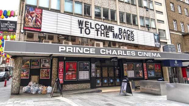 Власти Британии и Франции разрешили открыть кинотеатры