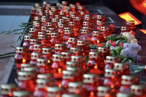 В Симферопольском районе почтили память жертв концлагеря «Красный»