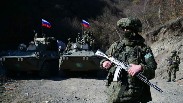 Российские миротворцы укрепили наблюдательные посты в Нагорном Карабахе