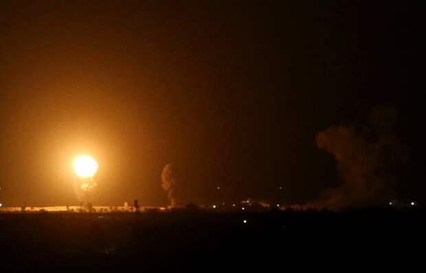 ХАМАС выпустил 130 ракет всторону Тель-Авива