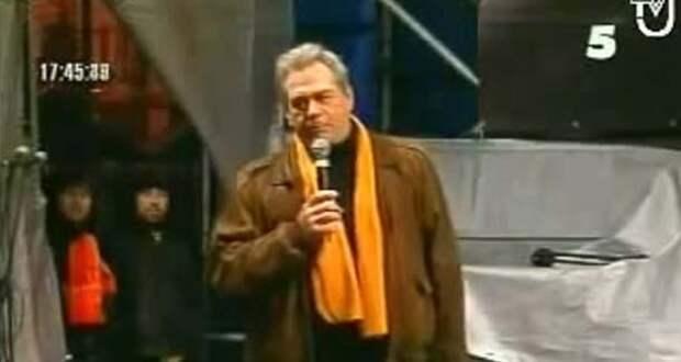 Доренко на майдане в Киеве: «Мы посадим Путина в клетку!»