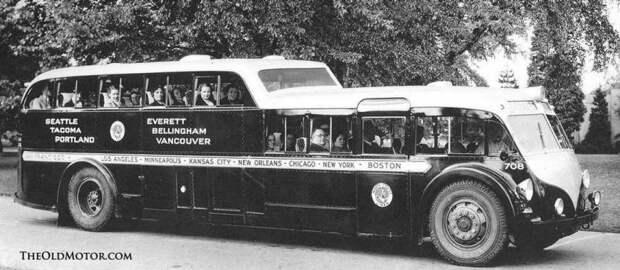 1938 W-1 Deckand a Half Bus