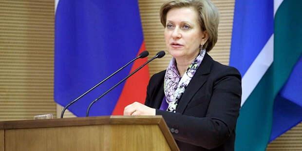Попова оценила ситуацию с COVID-19