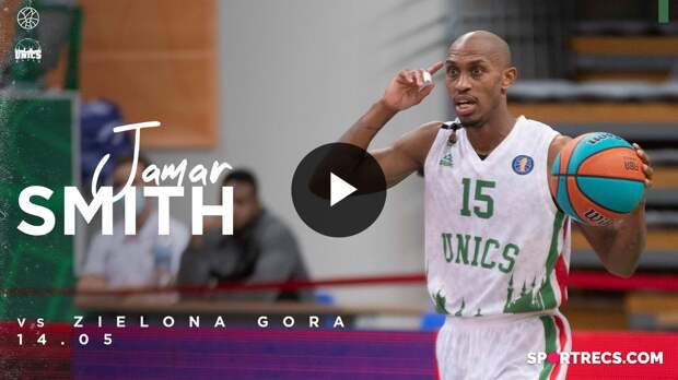 Jamar Smith vs Zielona Gora - 18 PTS, 5 AST | May 14, 2021