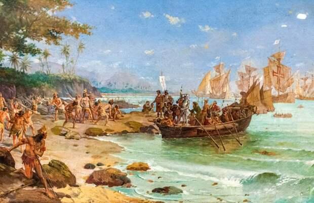 По завету Генриха Мореплавателя. Путь в Индию: экспедиция Кабрала