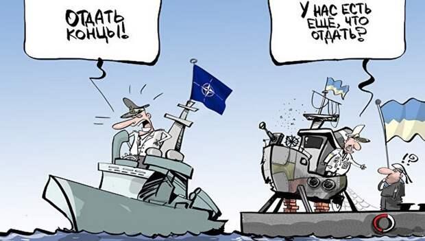 На Украине угрожают России направить Шестой флот США к берегам Сирии