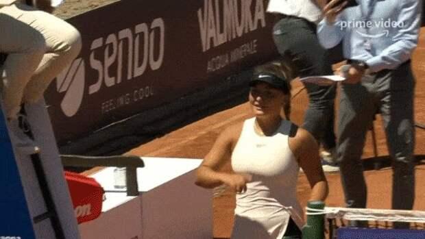 Серена о том, что Пигато после матча попросила с ней сфотографироваться: «Я жалею, что не сделала так после своего первого матча»