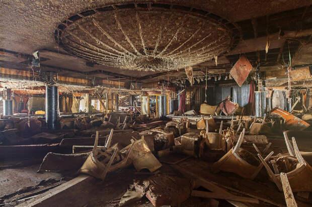 Лайнер Costa Concordia: взгляд изнутри