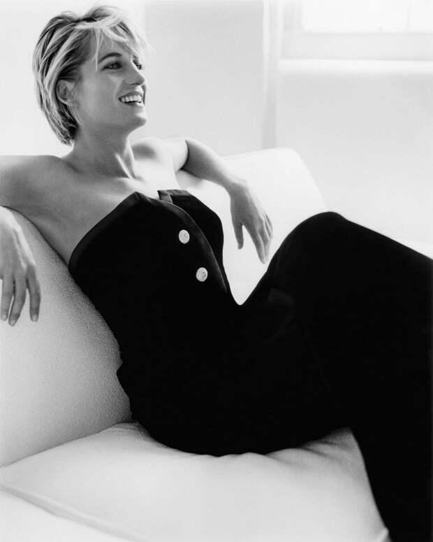 Принцесса Диана, 1996 год.