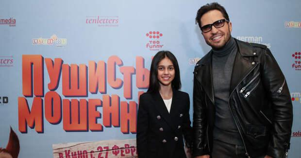 Ревва поддержал 12-летнюю дочь на премьере мультфильма