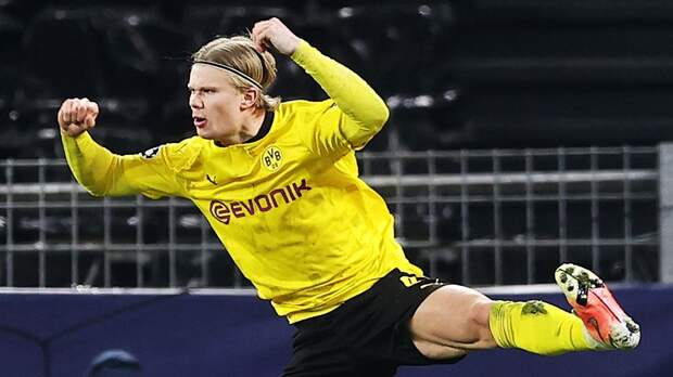 Холанд стал лучшим бомбардиром Лиги чемпионов, Куадрадо — лучшим ассистентом